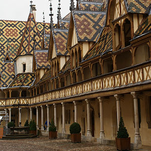 the hospice of beaune - Burgundy