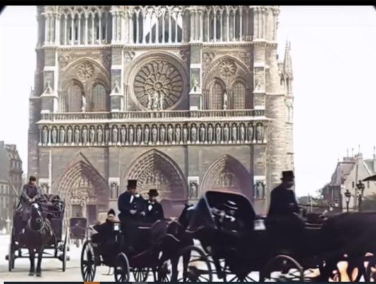 Paris Notre Dame 1900